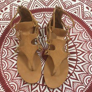 ALDO sandals.
